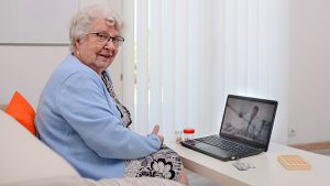 Televisit with Therapist